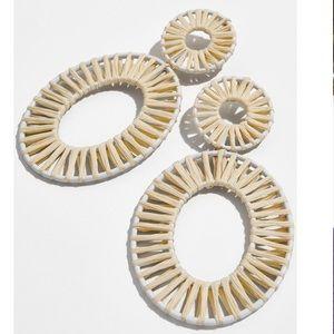 Bauble Bar Kiera Raffia Earrings